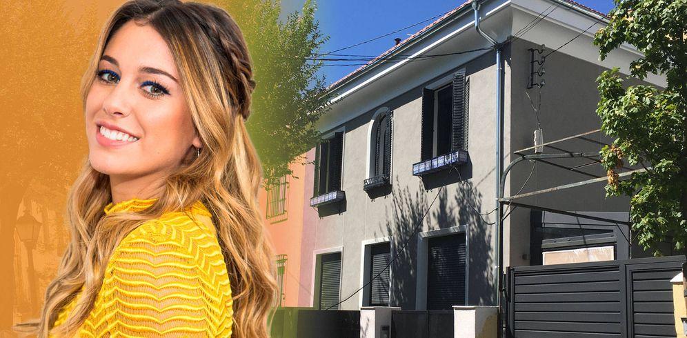 Foto: Blanca Suárez y su nueva casa, en un fotomontaje elaborado por Vanitatis.
