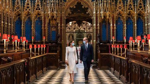 Blanca y radiante: el guiño de Guillermo y Kate Middleton a su boda, diez años después