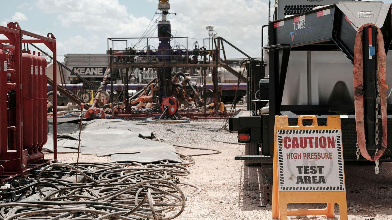 Pozo de Fracking en Mindland, Texas. (Reuters)