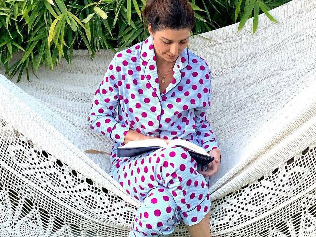 Foto: Rocío, con uno de sus famosos pijamas. (RRSS)