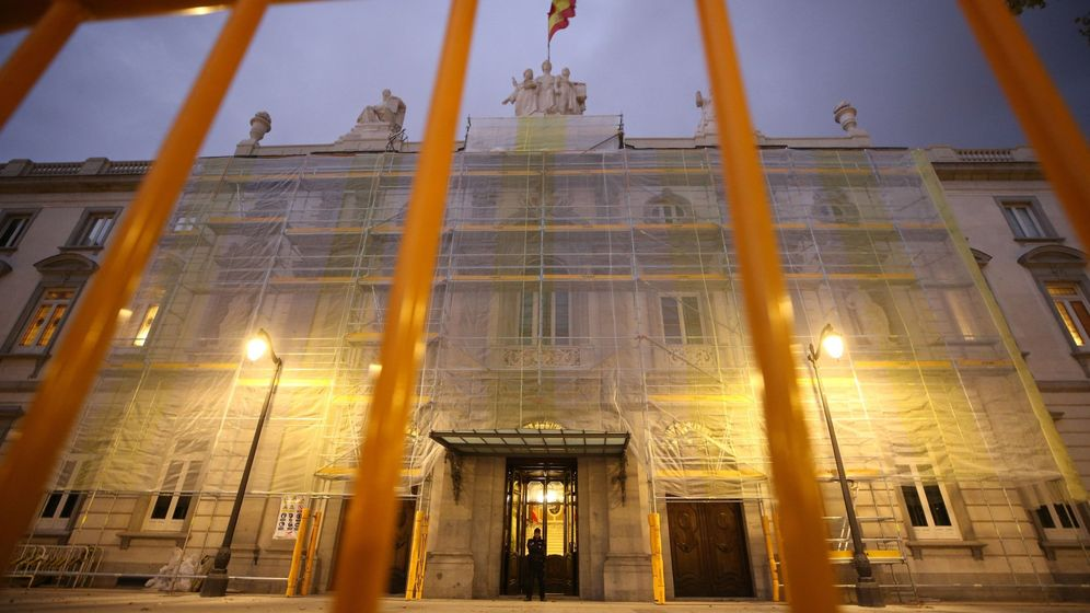 Foto: Imagen de archivo de la fachada principal del Tribunal Supremo. (EFE)