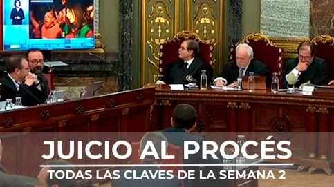 Vídeo resumen de la segunda semana del juicio al 'procés'