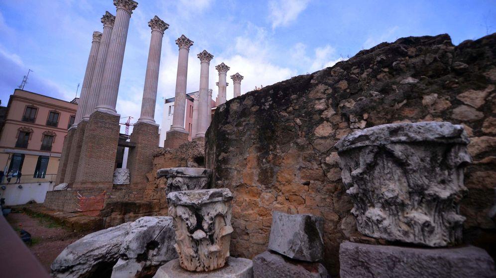 Foto: Templo romano en Córdoba. (EFE)