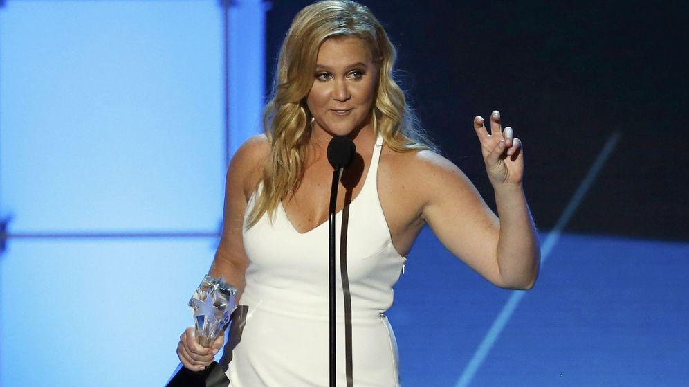 Foto: Amy Schumer en los últimos premios de la crítica (Reuters)