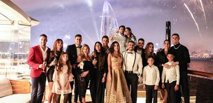 Post de Cristiano en Dubai, Carbonero en la playa y Ricky Martin, papá de nuevo: fin de año VIP