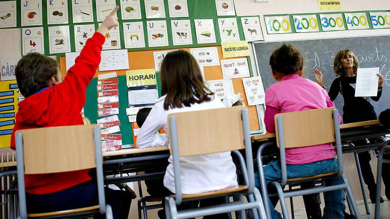 Alumnos en un colegio. (EFE)