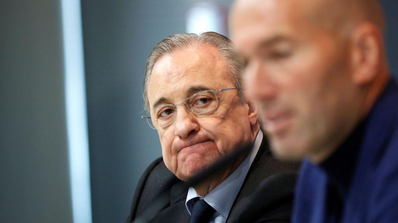 El enfado de Florentino con José Ángel Sánchez por no detectar la 'avería' de Zidane