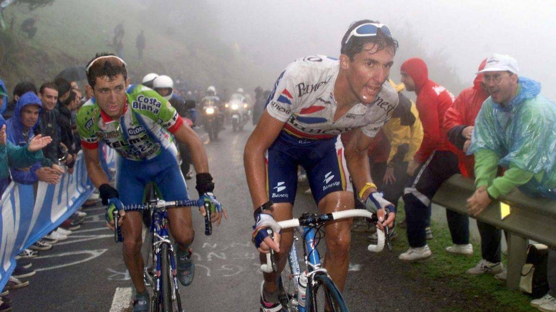 Aquel primer Angliru, el coloso de la Vuelta a España que hasta los coches temían bajar