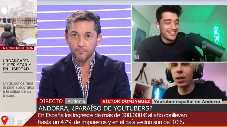 Encontronazo entre Javier Ruiz y un youtuber que vive en Andorra: Yo no te he insultado