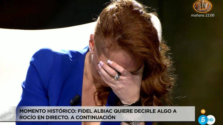 Otro momento de la entrevista. (Mediaset)