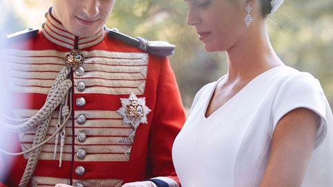 Descubrimos la inspiración royal del vestido de novia de Sofía Palazuelo