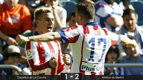 Al Atlético le basta con Griezmann para superar el estorbo del Depor