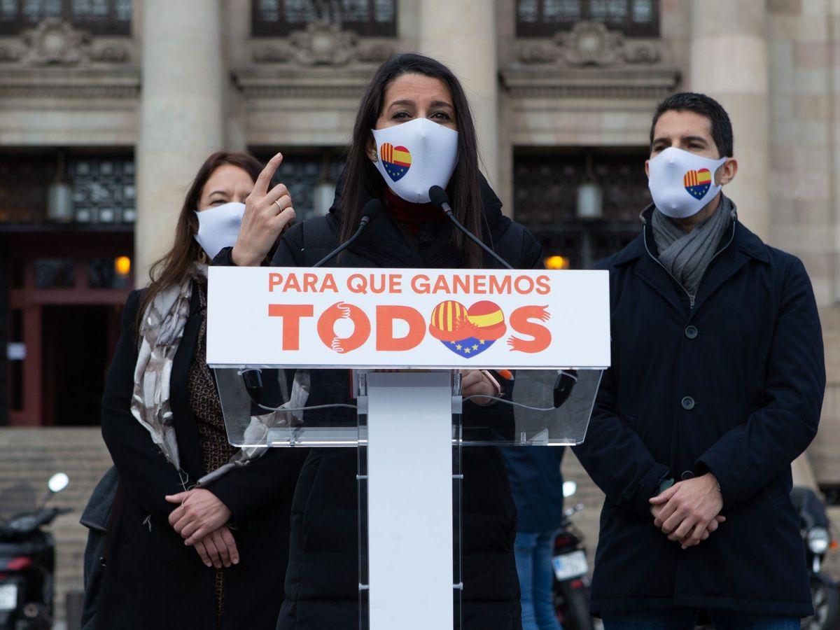 Foto: La presidenta de Ciudadanos Inés Arrimadas. (EFE)