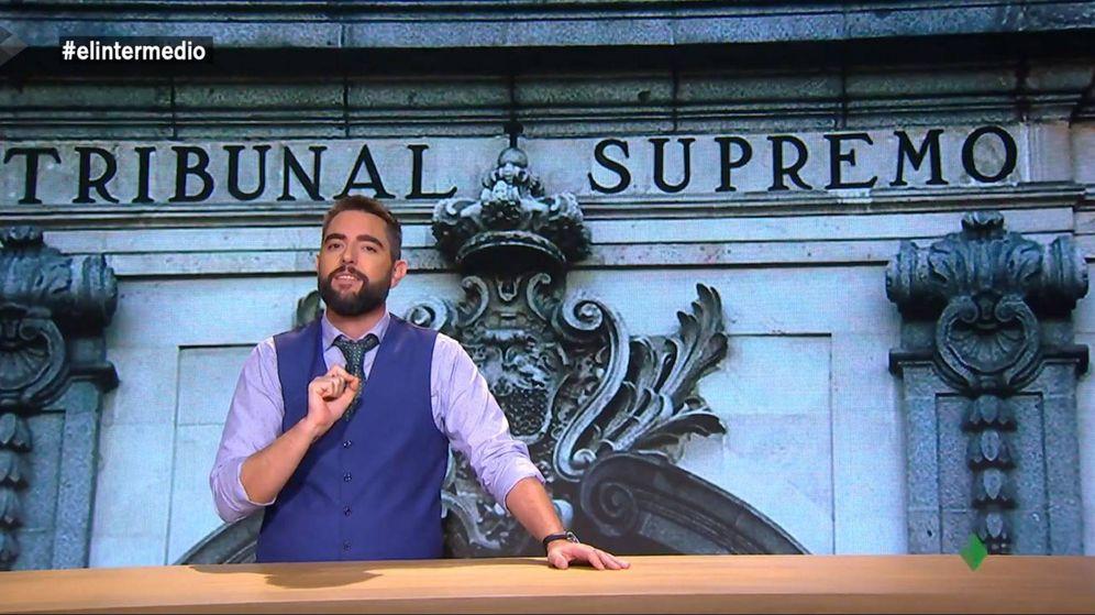 Foto: Dani Mateo, en el programa 'El intermedio'. (Atresmedia)