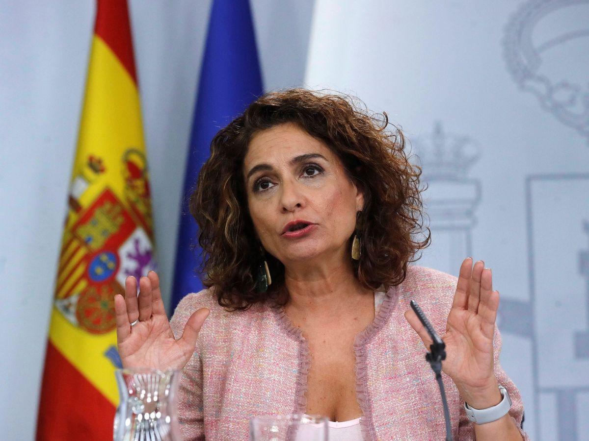 Foto: La ministra de Hacienda María Jesús Montero. (EFE)