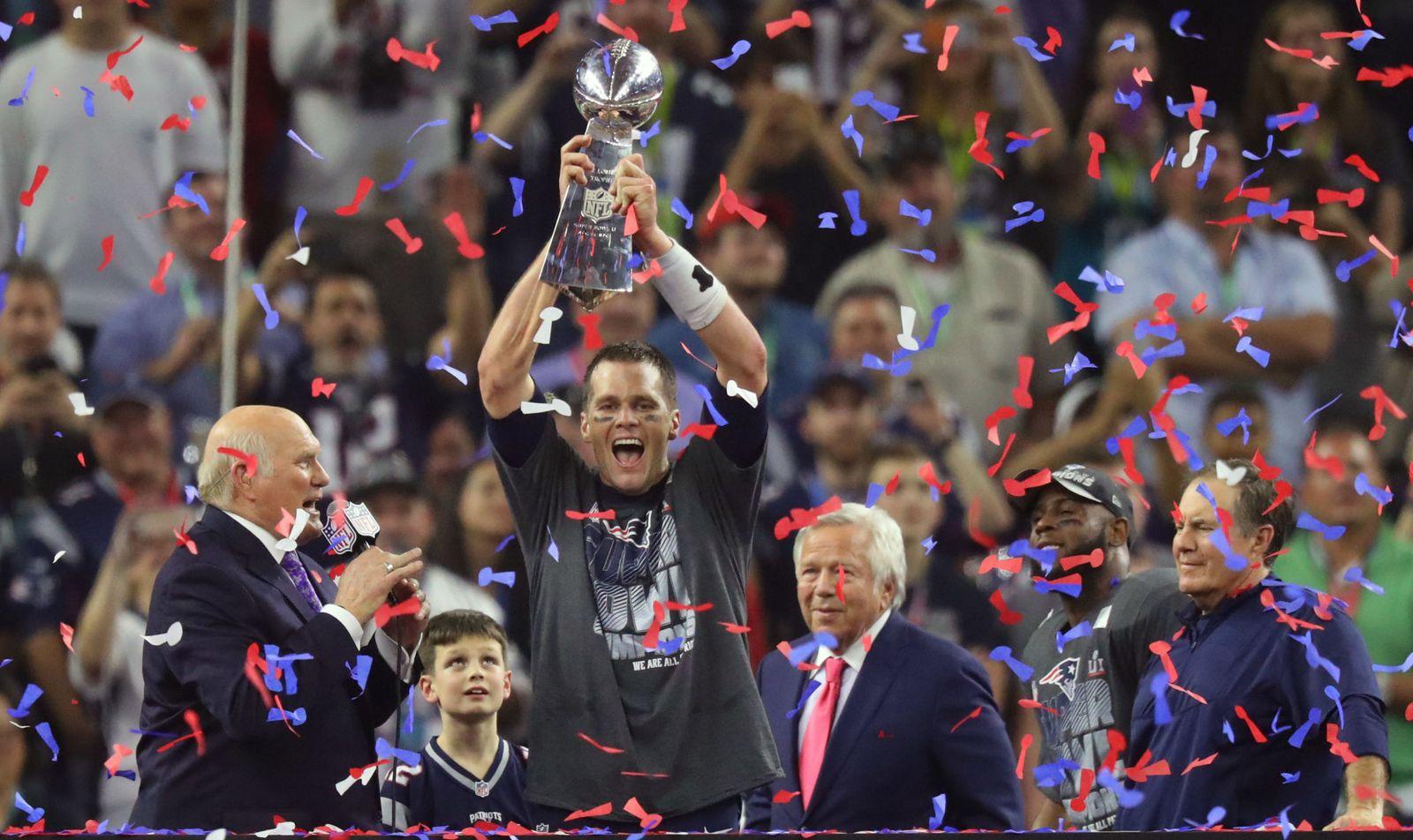75e4e074de6e6 Super Bowl  Super Bowl 2017  los Patriots logran la victoria más grande de  la historia
