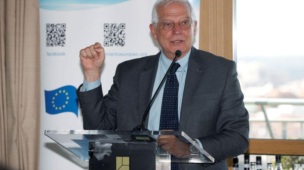 Foto: El ministro de Exteriores, Josep Borrell. (EFE)