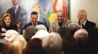 Sáenz de Santamaría imita a Évole y come con Duran... sin hablar de independencia