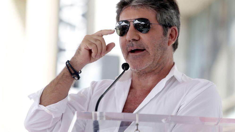 Foto: Simon Cowell es ejecutivo de una discográfica, pero el gran público le conoce por Got Talent (EFE/Mike Nelson)