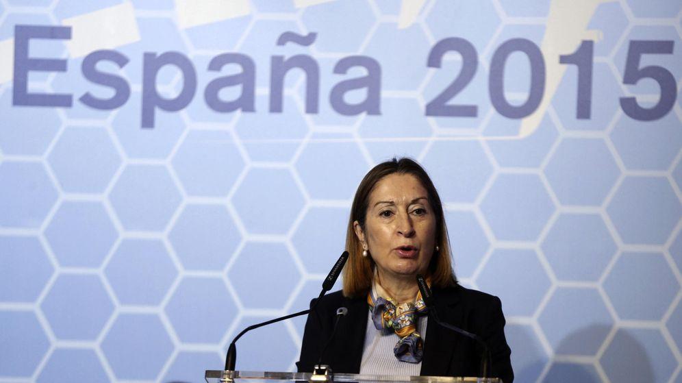 Foto: Ana Pastor, ministra de Fomento. (EFE)