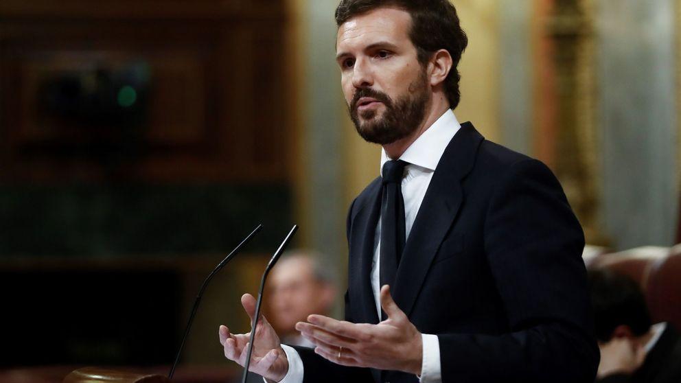 Casado confirma a Sánchez que apoya la prórroga del confinamiento