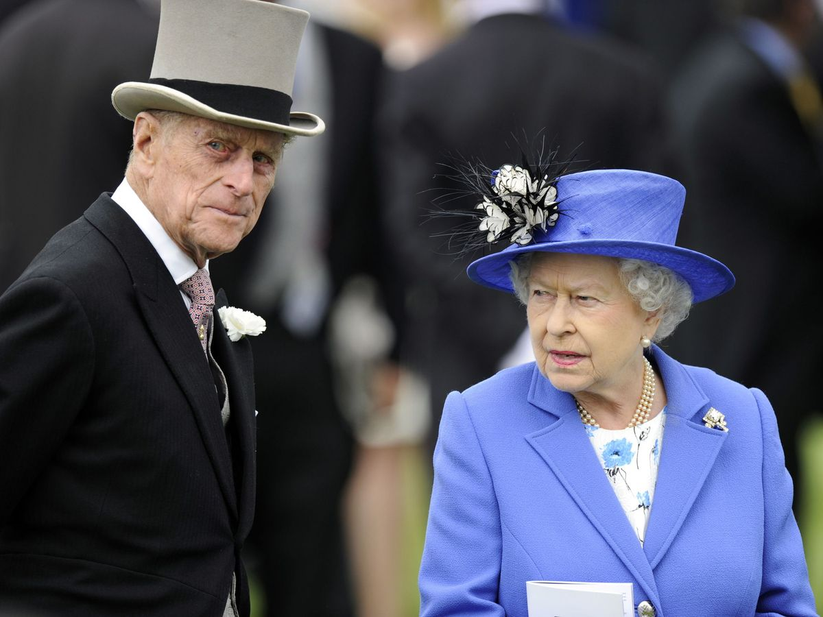 Foto: La reina Isabel y el duque de Edimburgo. (EFE)