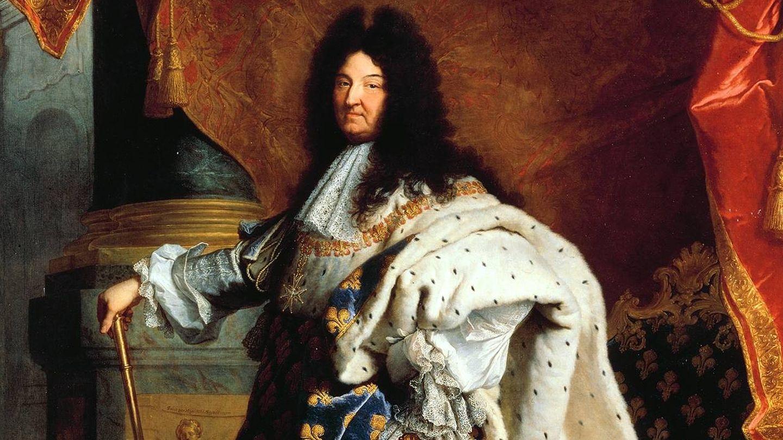 Luis XIV, el emperifollado abuelo.
