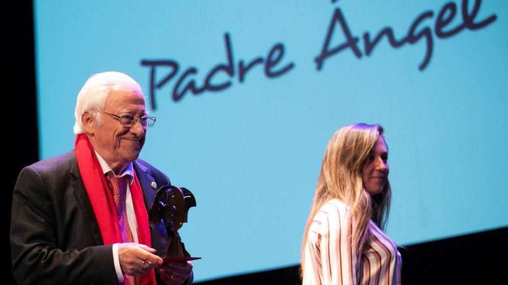 Foto: El padre Ángel. (EFE)