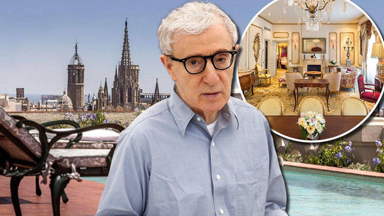 Pillamos a Woody Allen de vacaciones en Barcelona a 5.000 euros la noche