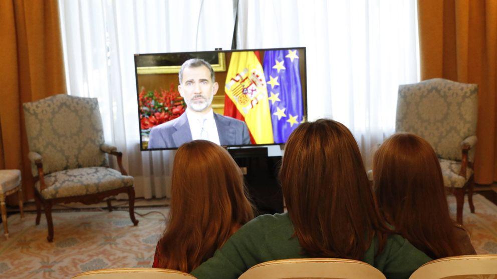 Felipe VI cumple 50 años mostrando su faceta más familiar con Letizia y sus hijas, en fotos