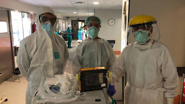 Los respiradores 'low cost' que Andalucía no usó pero dieron oxígeno a Ecuador