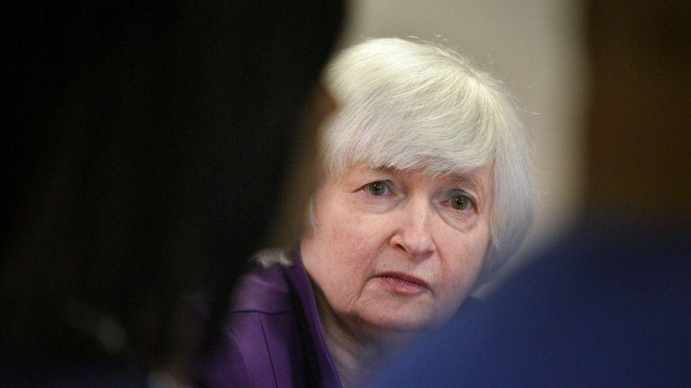 Foto: La presidenta de la Fed, Janet Yellen./REUTERS