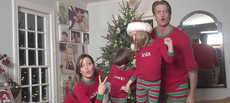 Foto: El vídeo viral de moda estas Navidades es un rap familiar interpretado... ¡en pijama!