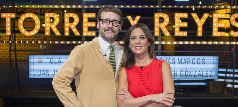Foto: Mara Torres y Joaquín Reyes (TVE)