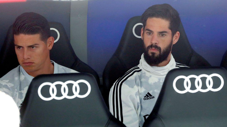El suplicio de Isco en el Real Madrid (y por qué se 'borran' Bale y James)