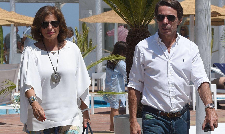 Foto: Ana Botella y José María Aznar en una imagen de archivo (Gtres)