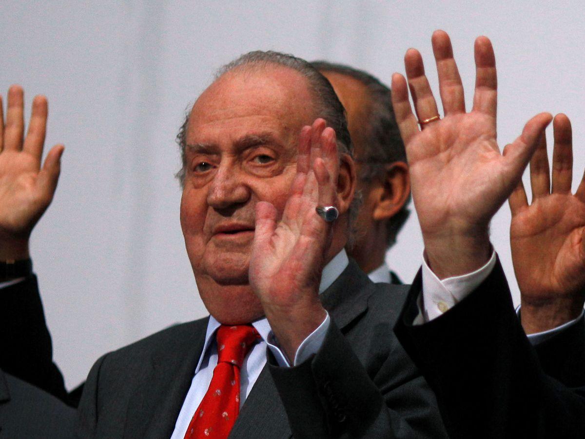 Foto: Imagen de archivo del Rey Juan Carlos I. (Reuters)