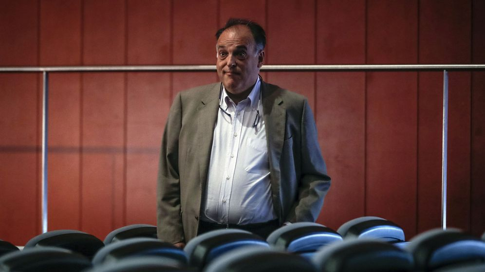Foto: Javier Tebas preside LaLiga desde abril de 2013. (EFE)