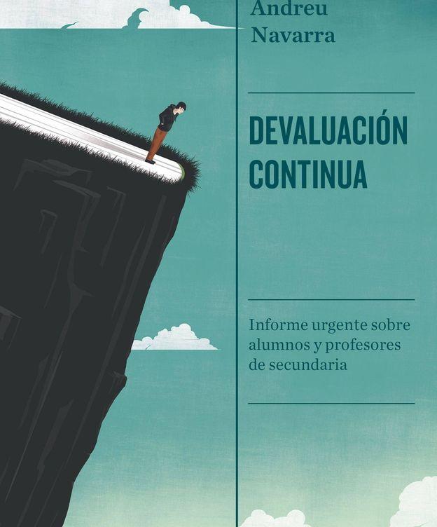 Foto: Portada de 'Devaluación continua' (Tusquets), de Andreu Navarra