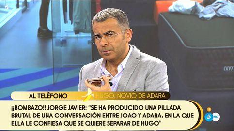 Jorge Javier Vázquez suelta la bomba de 'GH VIP 7': Adara quiere separarse de Hugo