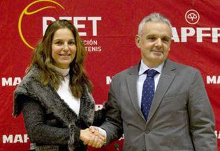Foto: Arantxa, capitana de España: Nuestra época ya pasó. Ahora hay que hacer un equipo ganador