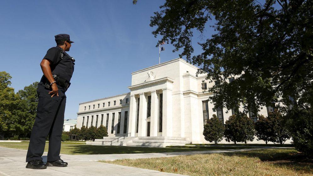 Foto: Fachada de la sede de la Reserva Federal en Washington
