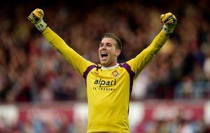 Dos metas españoles, protagonistas en la tanda de penaltis en Inglaterra