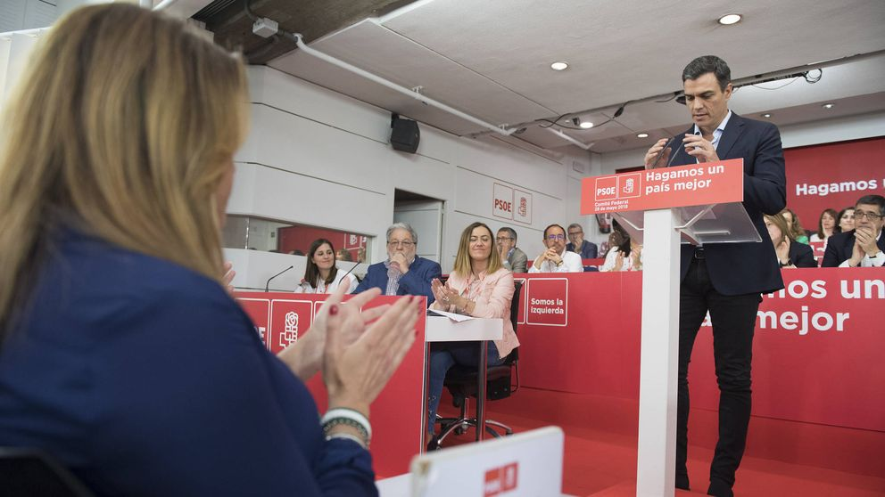 Susana Díaz muestra su apoyo y lealtad a Pedro Sánchez en un nuevo tiempo