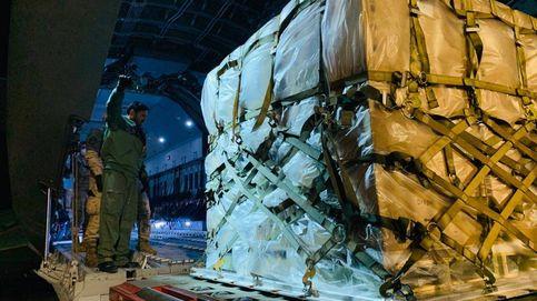 Aterrizan en Madrid dos aviones con 50 respiradores cedidos por Alemania