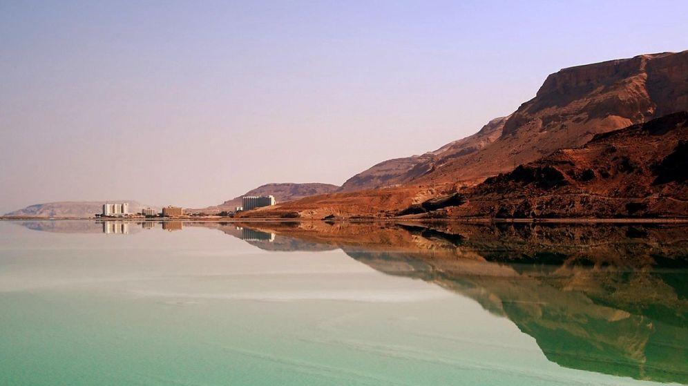 Foto: El mar Muerto, uno de los parajes más espectaculares del planeta.