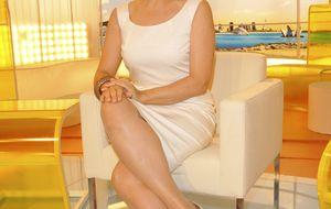 Gloria Serra da a luz a sus gemelas y se 'disfraza' para evitar paparazzi