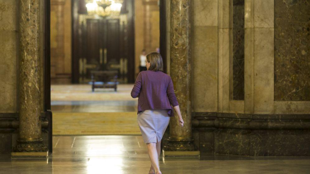 Foto: La presidenta del Parlament de Catalunya, Carme Forcadell. (EFE)
