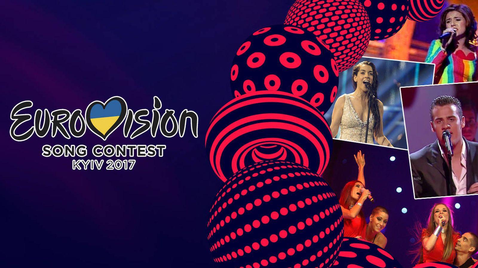 Foto: Varios de nuestros últimos representantes en el Festival de Eurovisión.