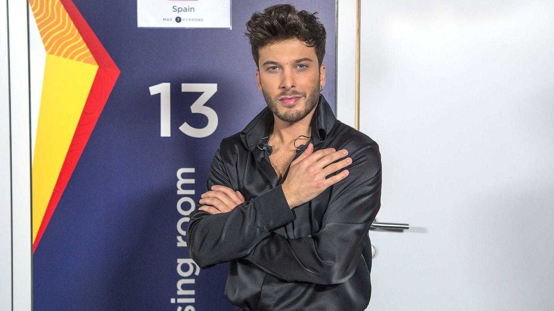 Blas Cantó, tras actuar en Eurovisión 2021. (Raúl Tejedor, RTVE)